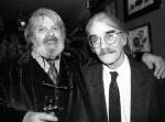 Roger Richards and Gregory Corso - copyright Shiv Mirabito