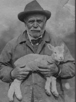 Cathy Clarke's grandfather, the Prospect Park shepherd.